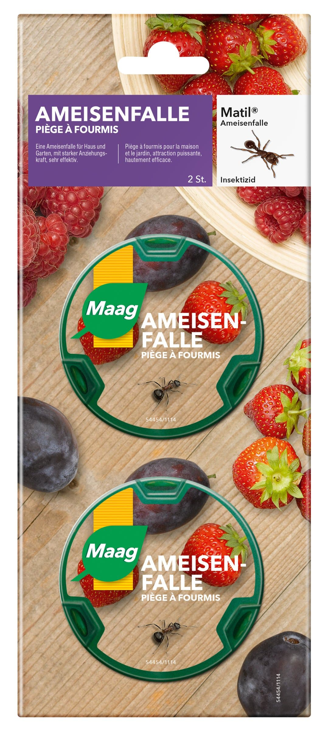 Maag Matil Piège anti-fourmis, 2 pieces