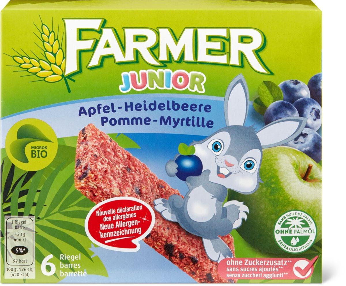 Bio Farmer Junior Apfel-Heidelbeere