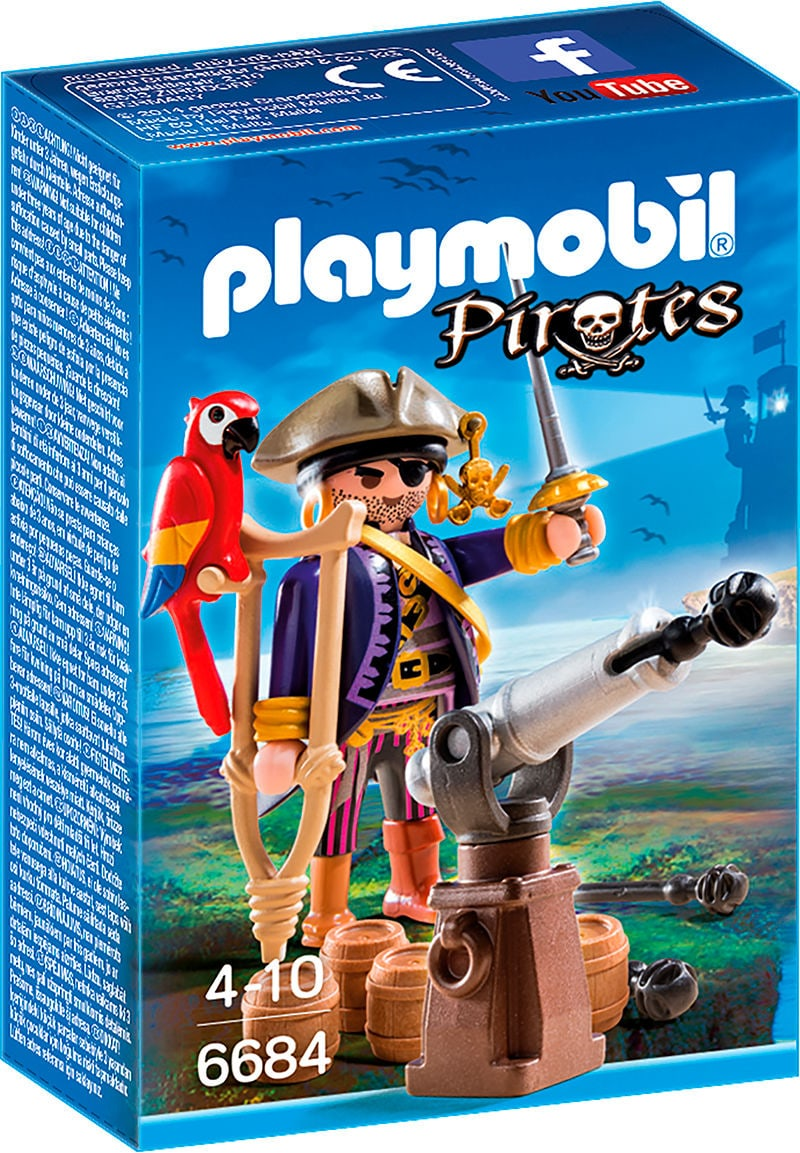 PLAYMOBIL Pirates Piratenkapitän 6684