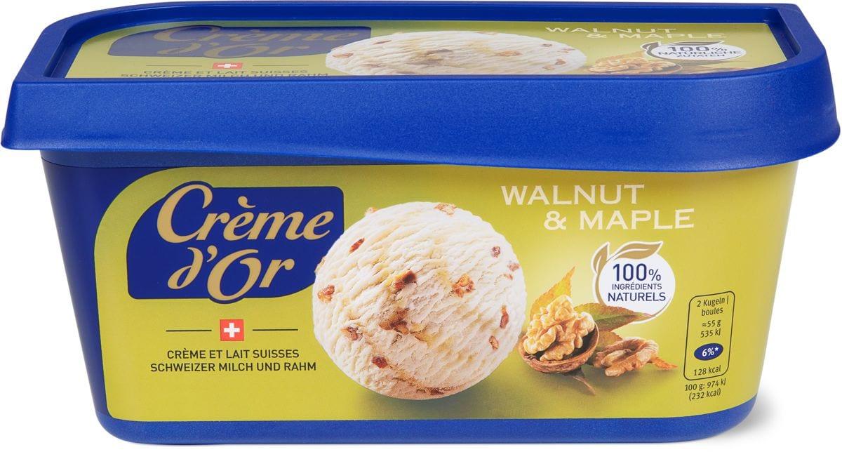 Crème d'or Walnut & Maple