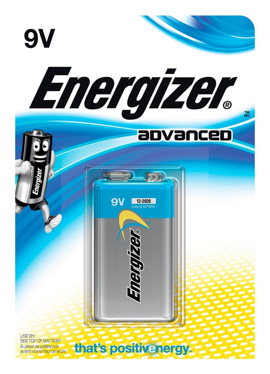 Energizer Advanced 9V (1Stk.) Batterie