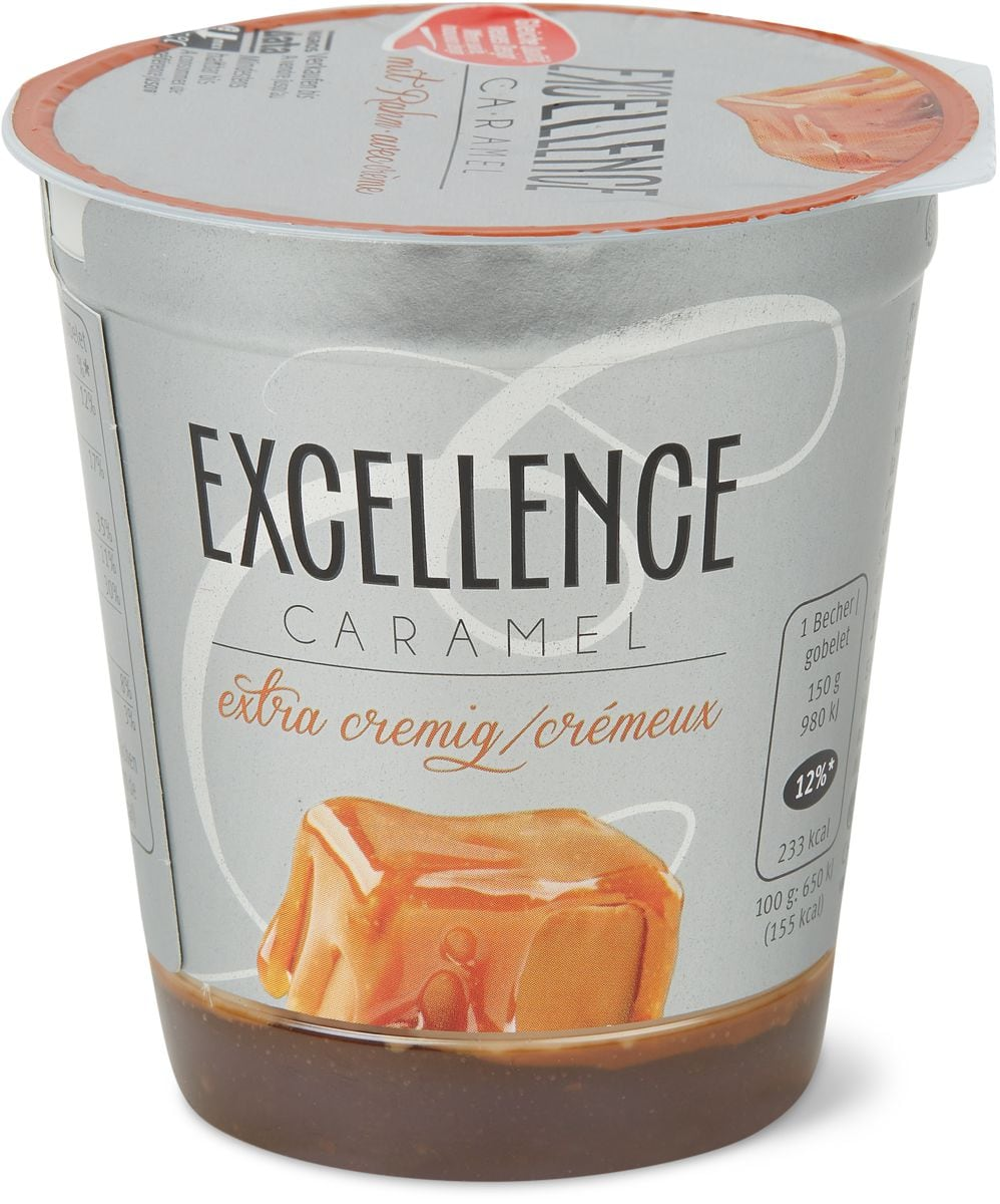 Excellence Caramel Joghurt mit Rahm