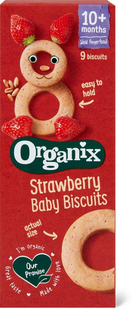 Organix Biscuits Erdbeere