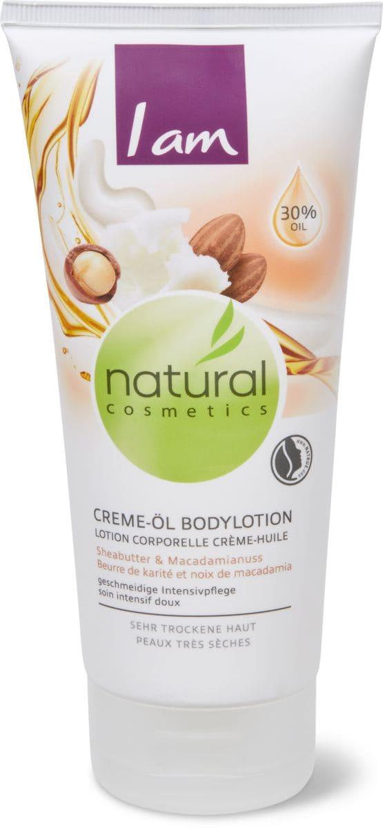 I am Natural Cosmetics lotion corporelle crème-huile