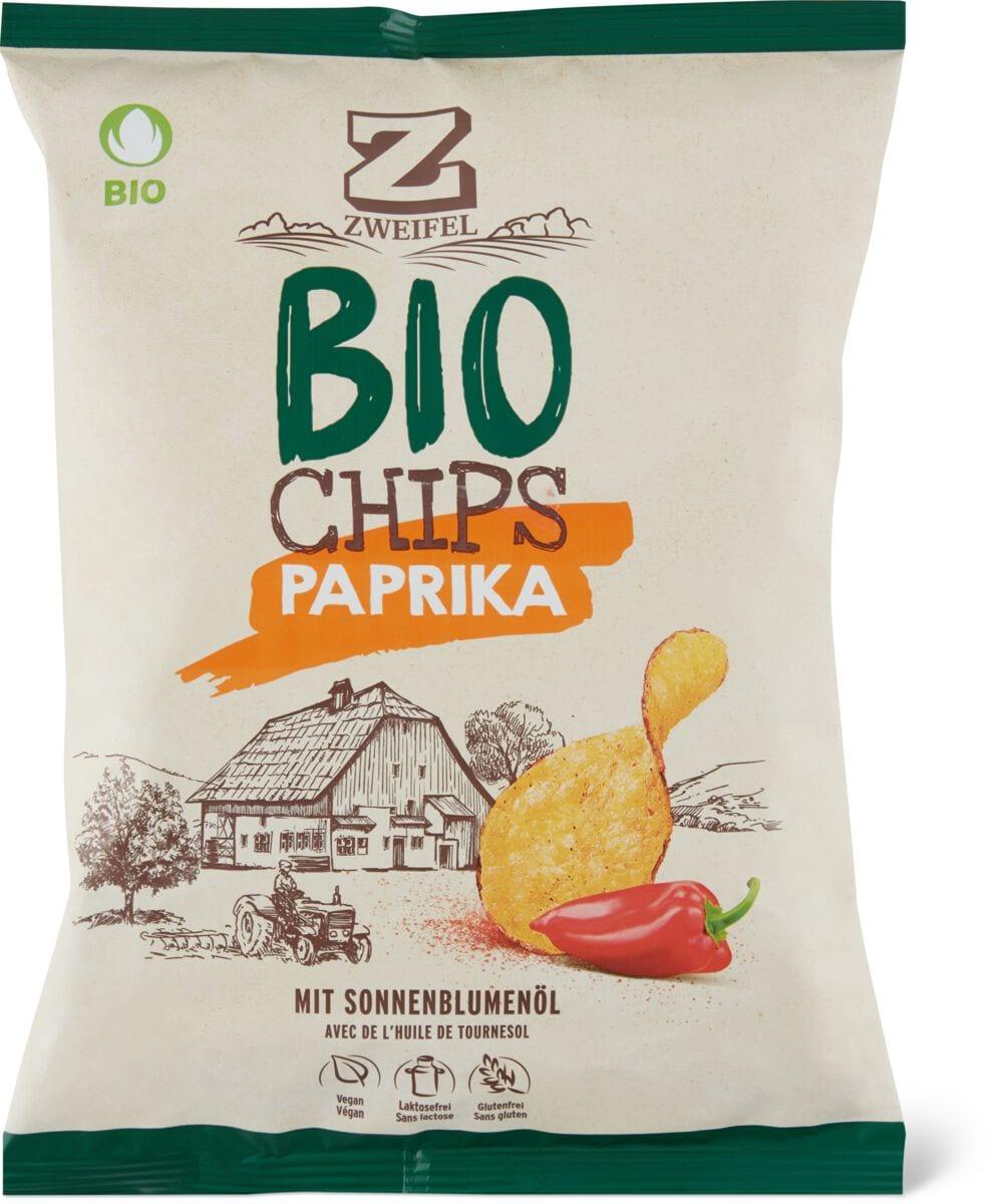 Bio Zweifel Chips Paprika