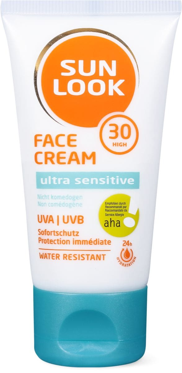 Sun Look Ultra Sens Face Cream SF30