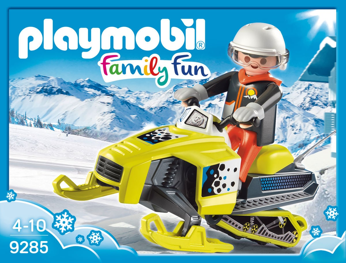 Playmobil Family Fun Motoslitta 9285