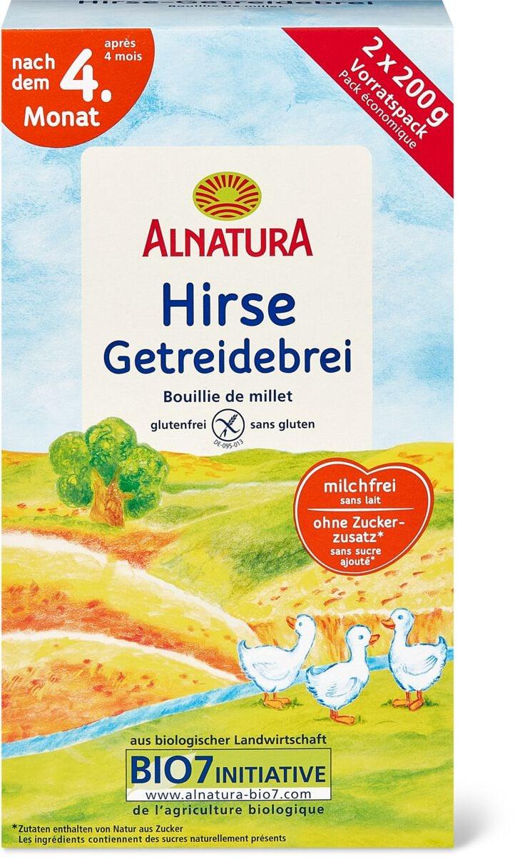 Bio Alnatura bouillie céréales