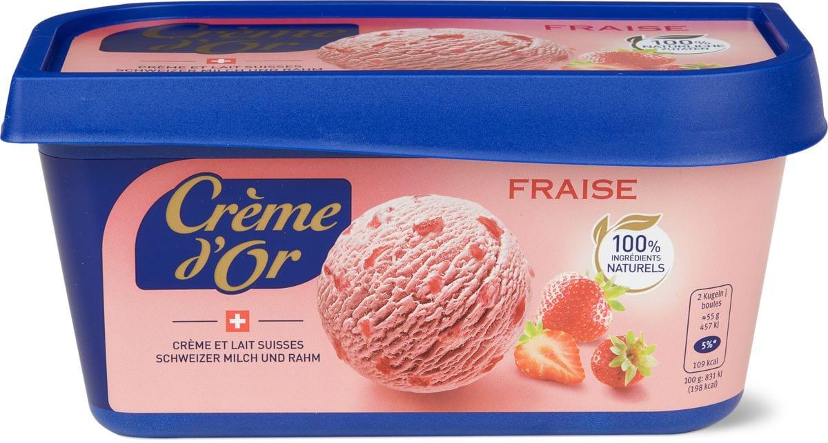 Crème d'or fragola