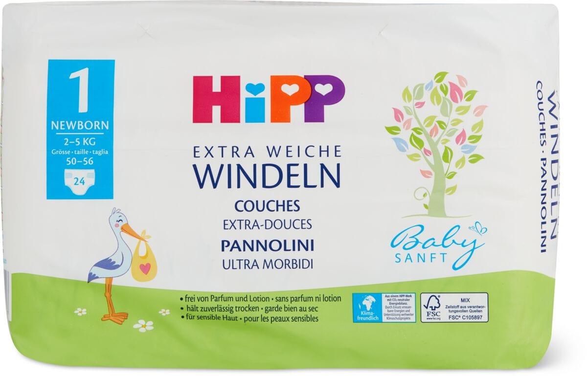 Hipp Babysanft Windeln Newborn 1