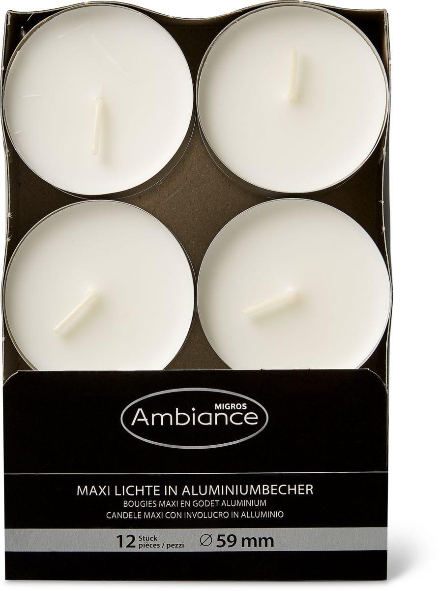 Migros Ambiance Maxi-Teelichte 10h