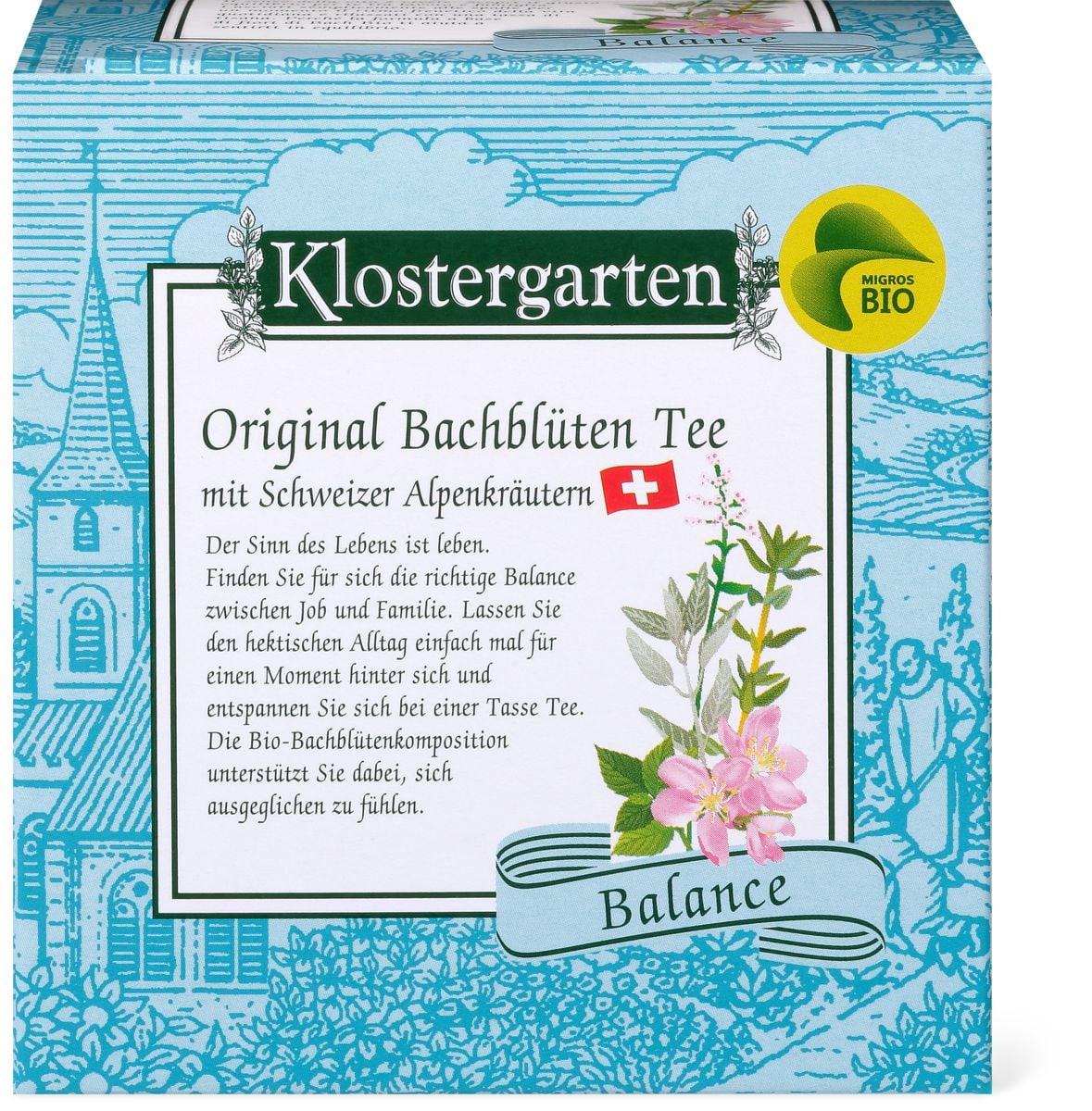Bio Kloster thé aux fleurs Bach balance