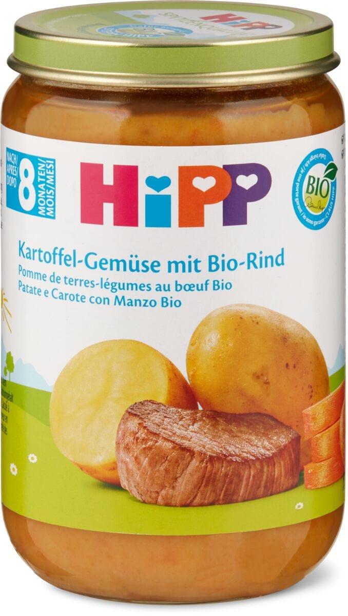 HiPP Pomme de terre-légumes au boeuf BIO