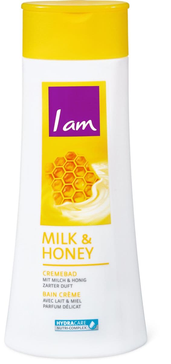 I am Cremebad Milk & Honey