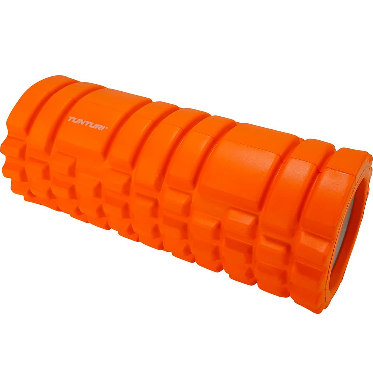Tunturi Rouleau de massage yoga orange à bloc de mousse, 33 cm