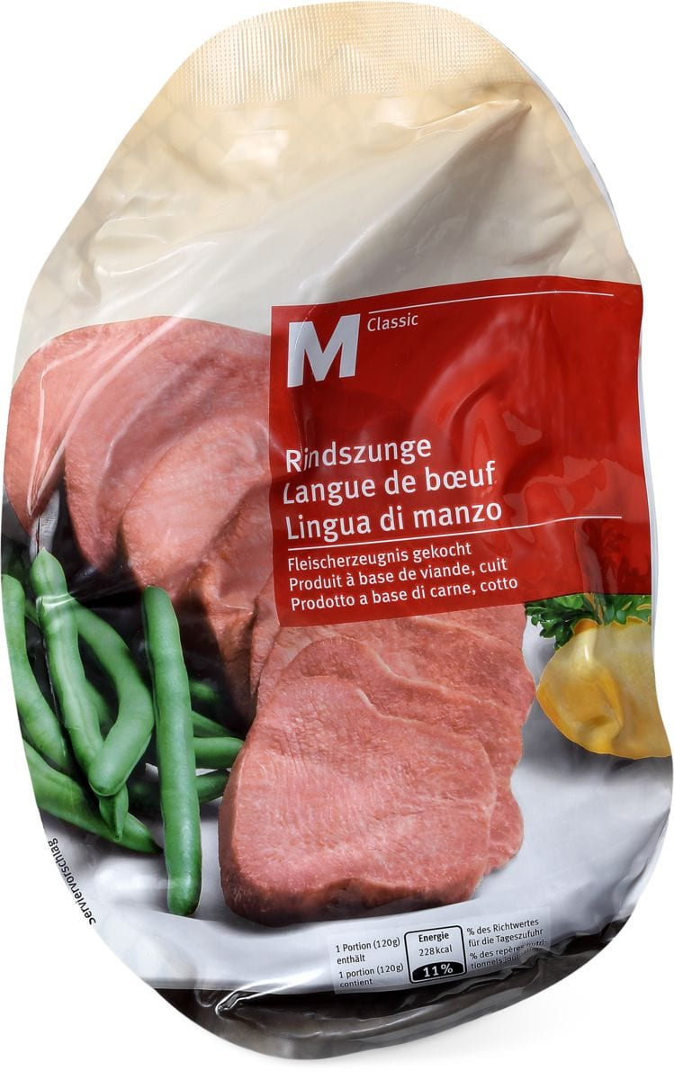 M-Classic Quick Rindszunge gekocht, gekühlt