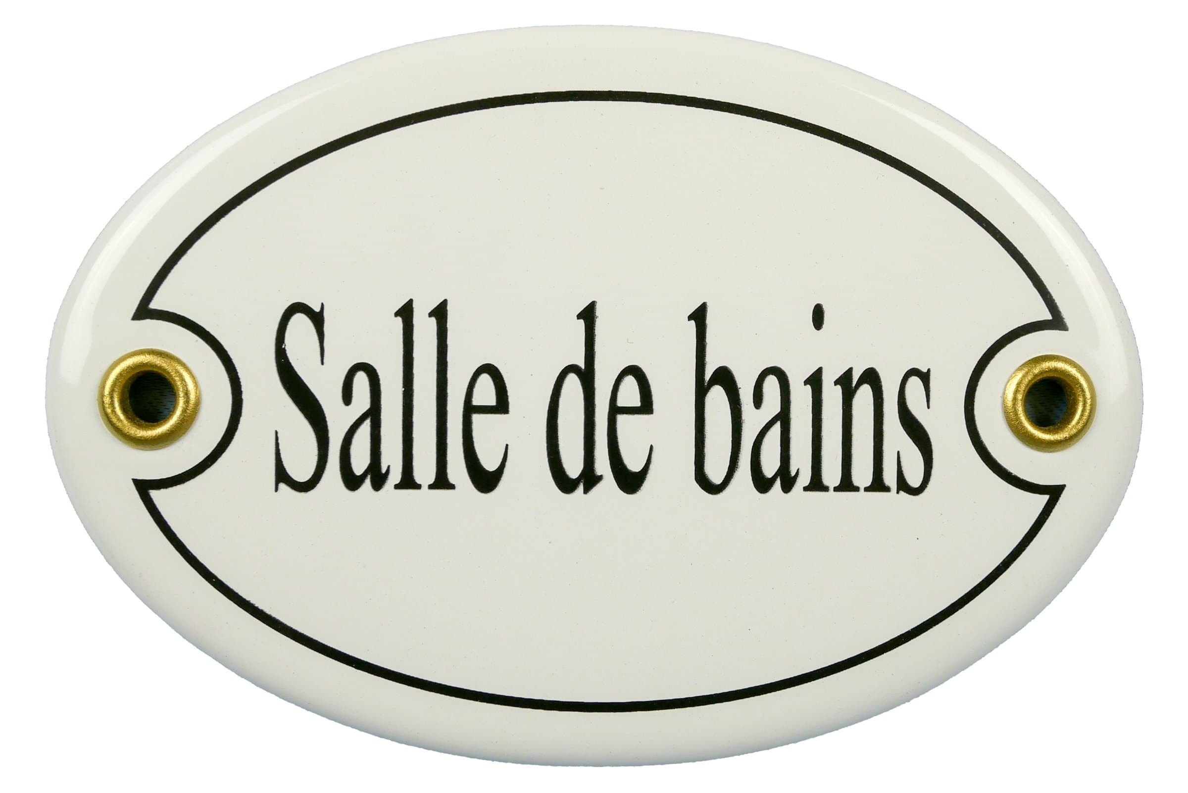 Insegna in email Salle de bains