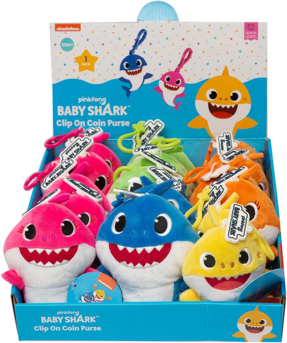 Baby Shark Plush Key Chain Plüsch