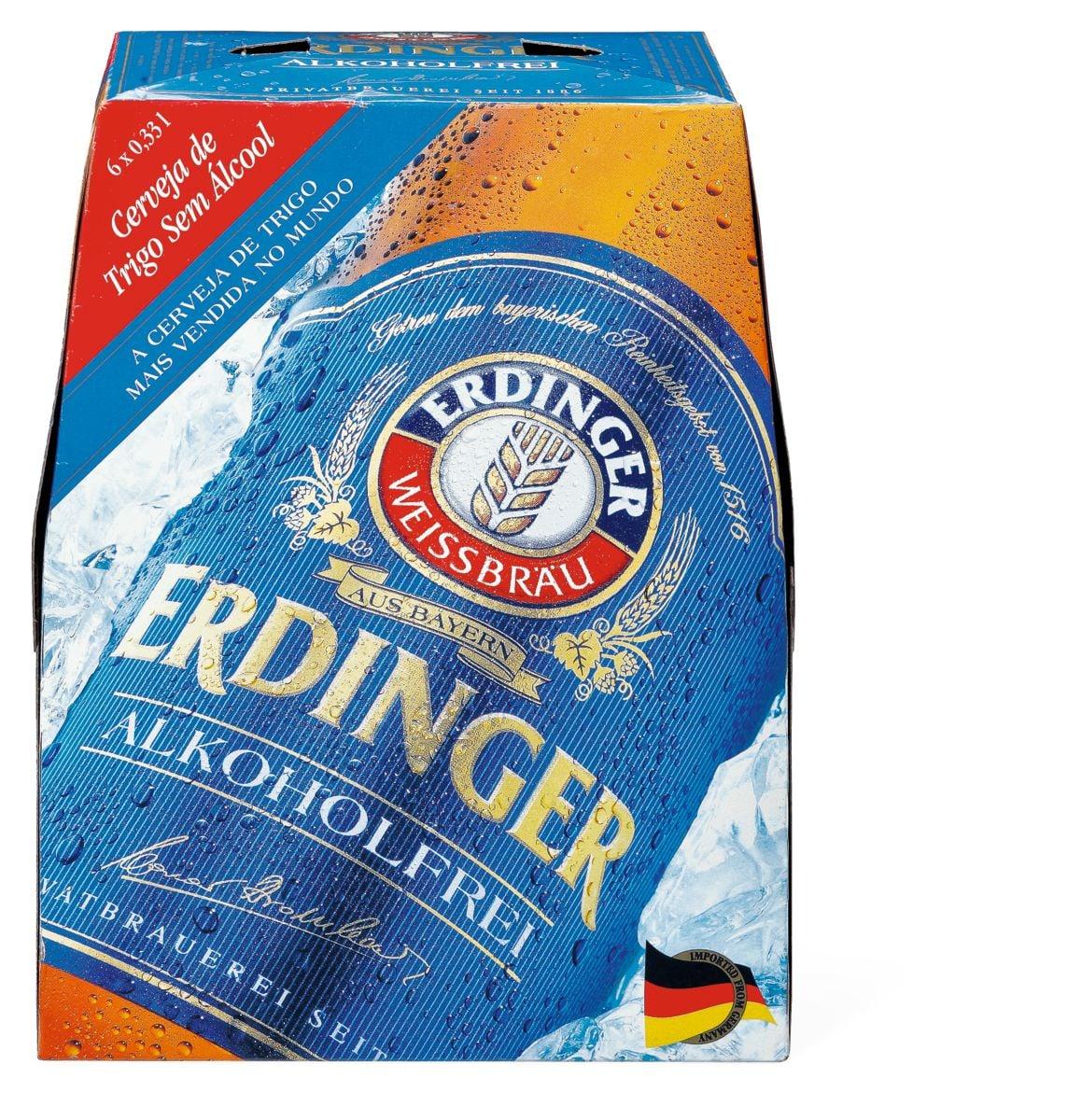 Erdinger Bière blanche, sans alcool