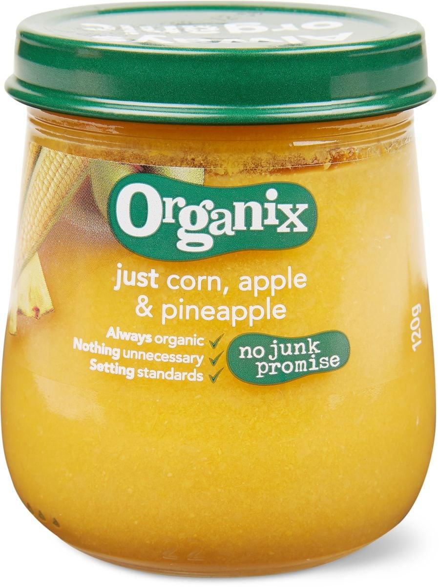 Organix Mais Ananas Apfel