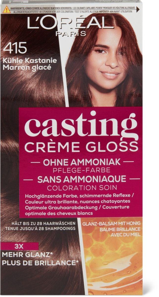 L'Oréal Casting Crème Gloss 415 Kühle Kastanie