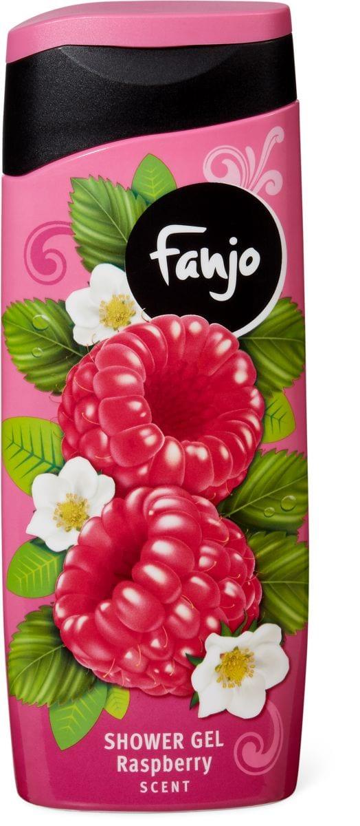 Fanjo gel de douche aux senteurs fruitées à la framboise