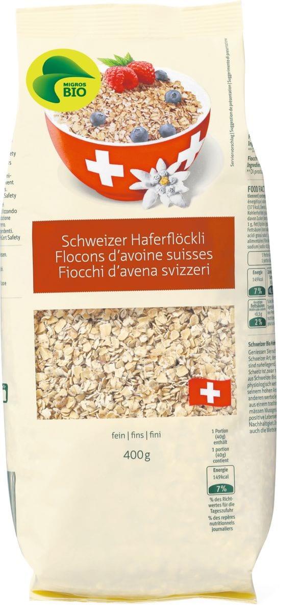 Bio Fiocchi d'avena svizzeri