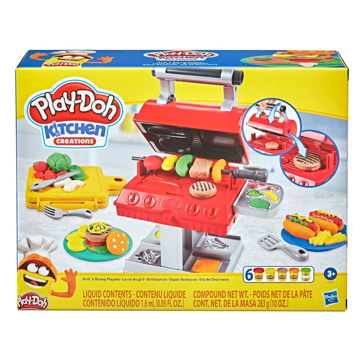 Play-Doh Grill N Stamp Pongo