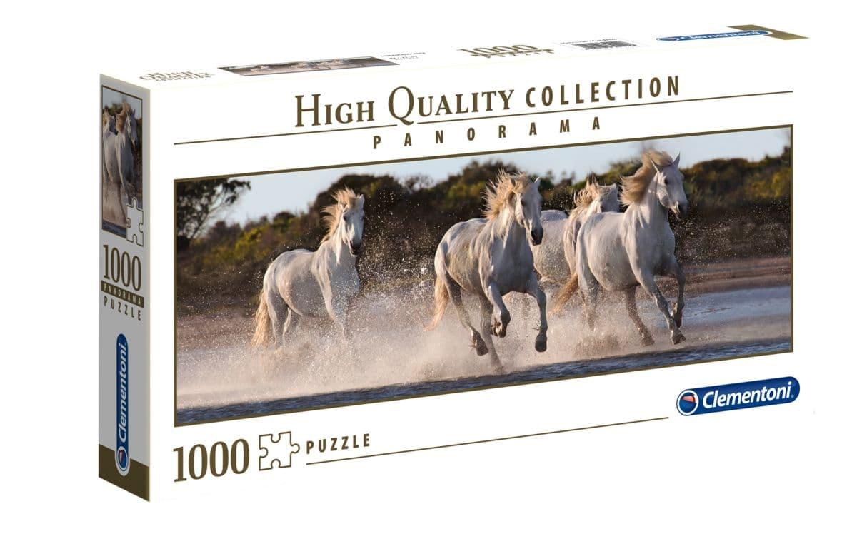 Clemantoni Puzzle Panorama Pferde 1000Tl