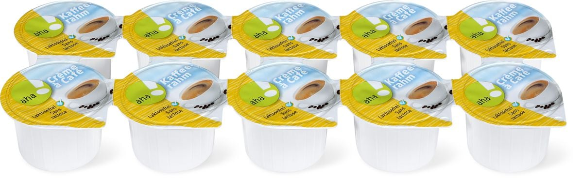 Crème de café portion aha!