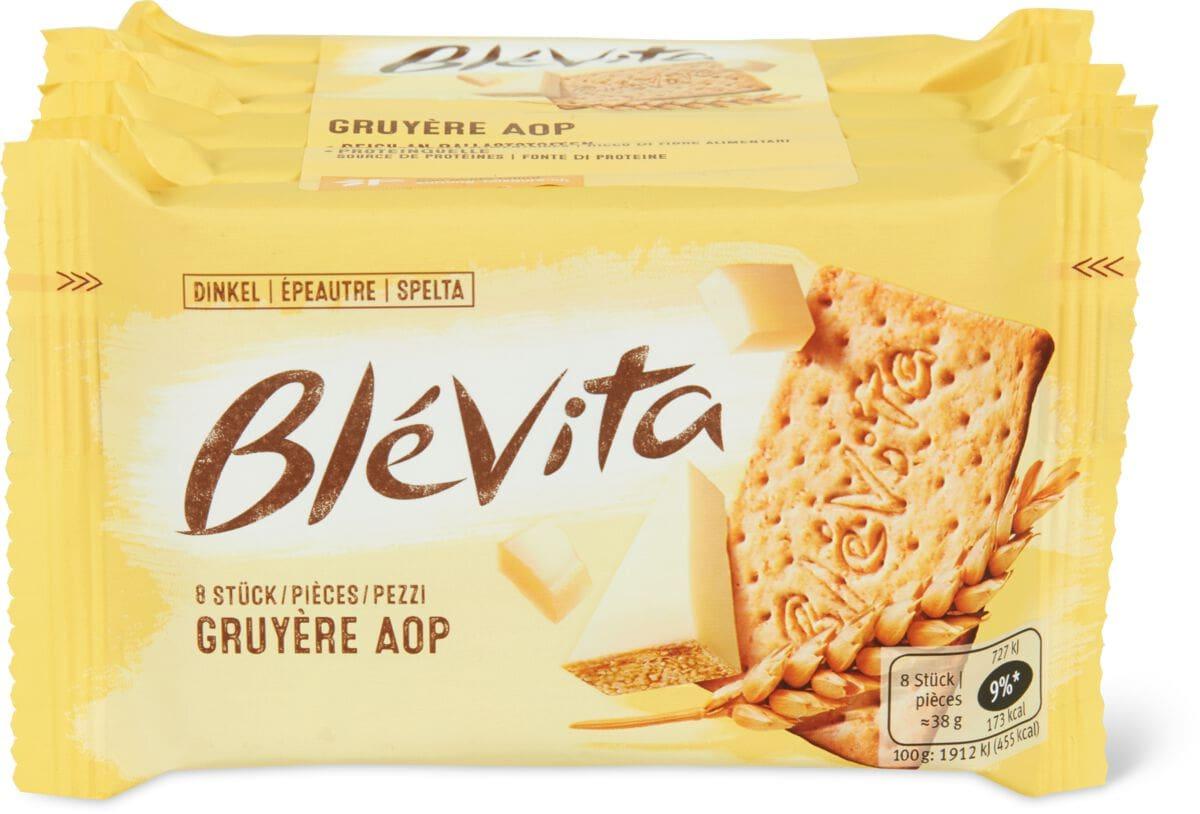 Blévita mit Gruyère AOP