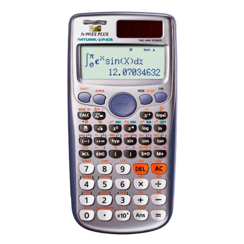 Casio fx 991es plus calculatrice scientifique migros for Calculatrice en ligne gratuite