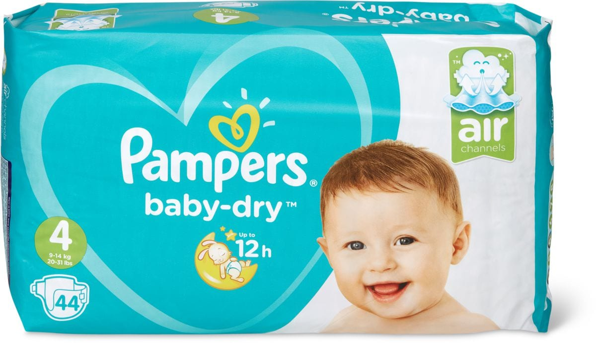 Pampers Baby Dry Gr. 4