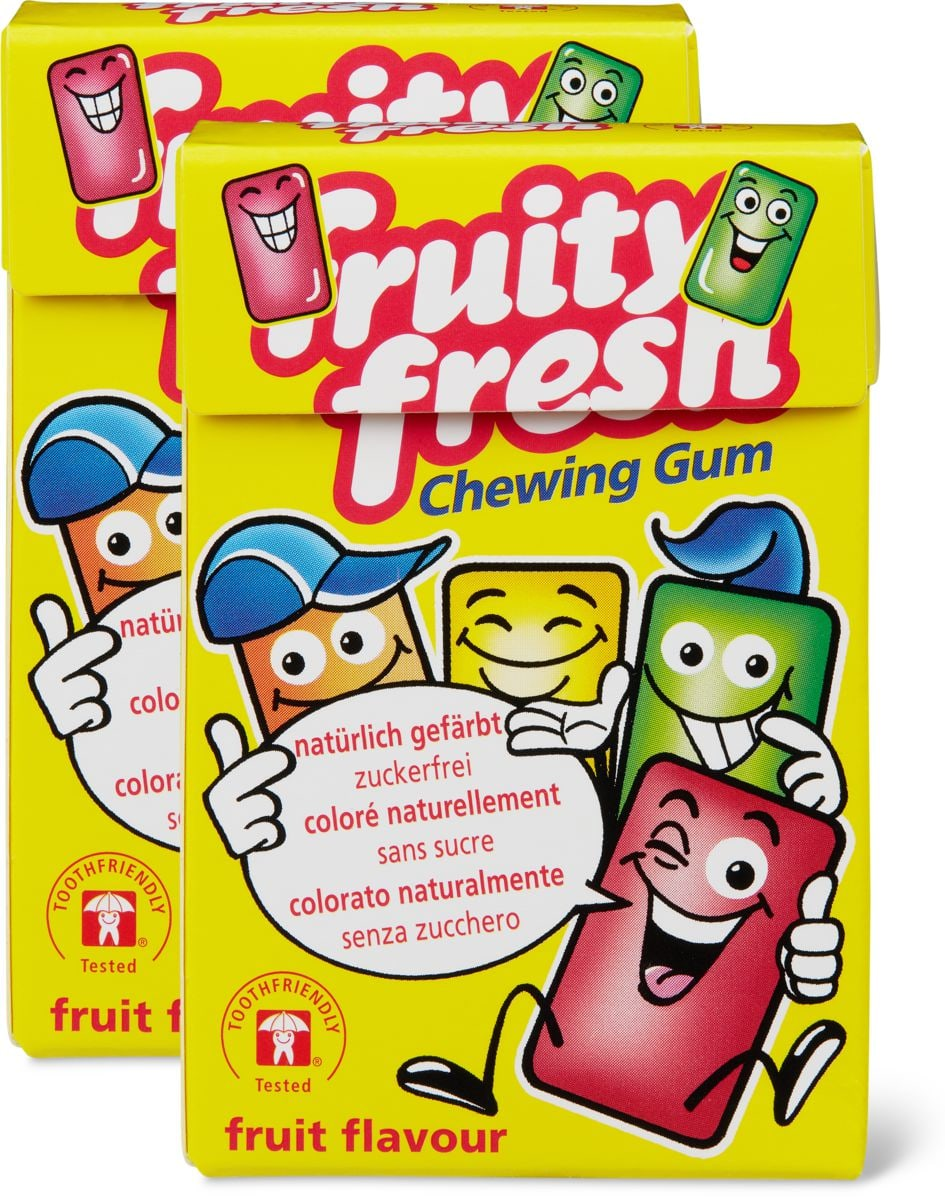 Fruity Fresh Chewing Gum