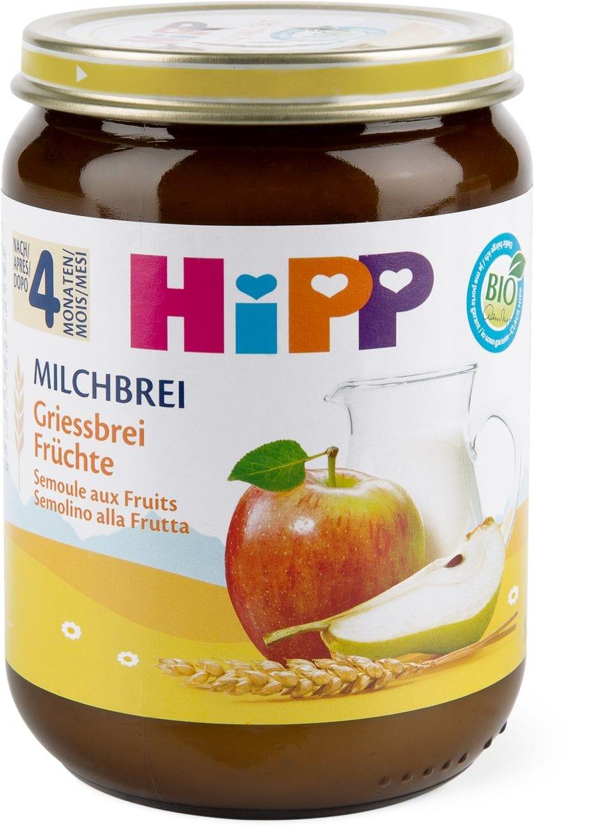 Bio HiPP Semoule aux fruits