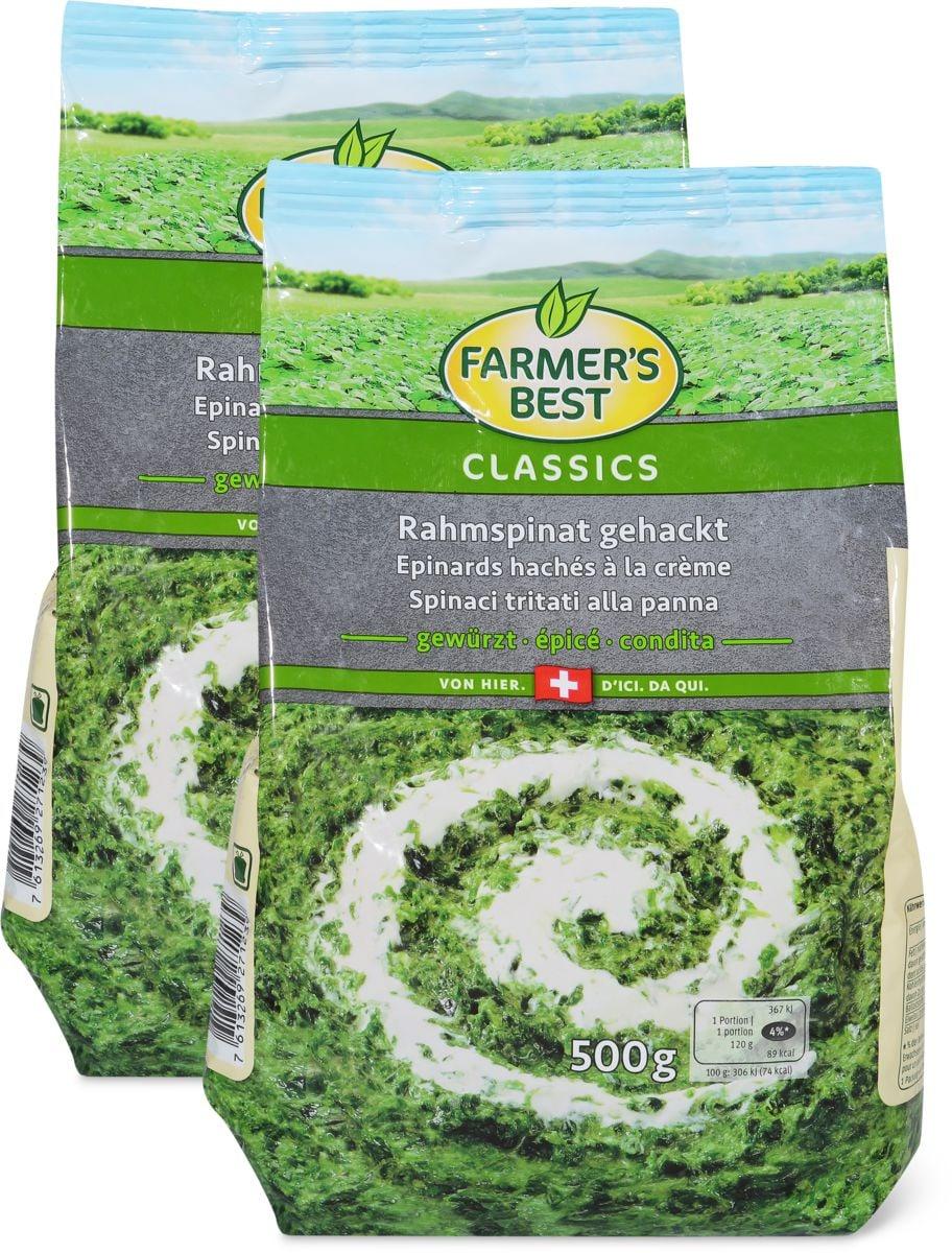 Farmer's Best Rahmspinat im Duo-Pack