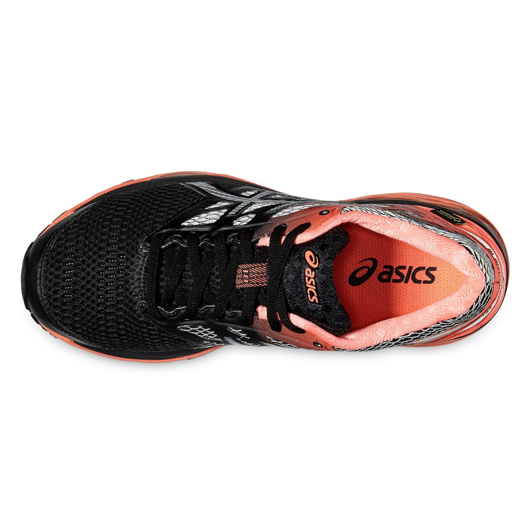Asics chaussures de course pour femme gel cumulus 18 gtx migros - Chaussure pour tapis de course ...
