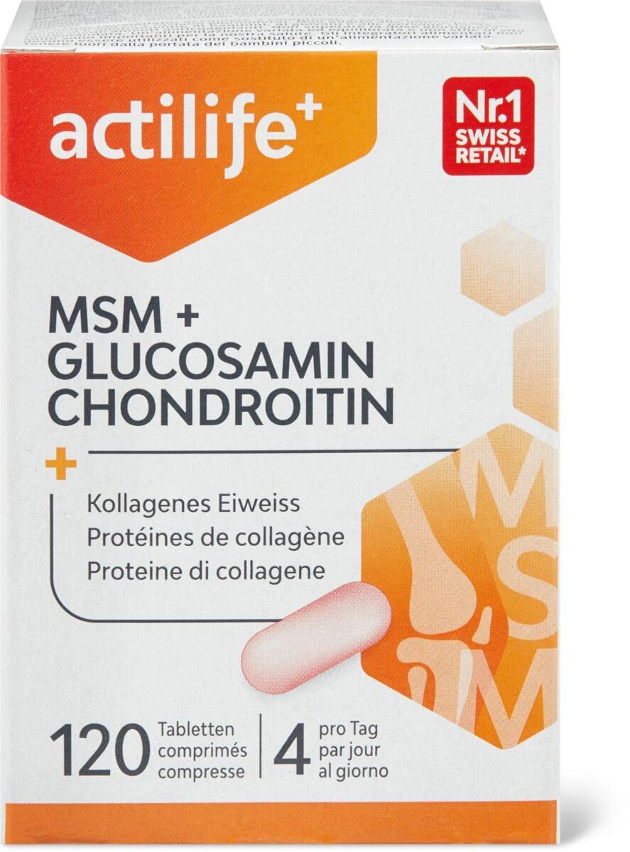 Actilife MSM & Glucosamin Chondroitin