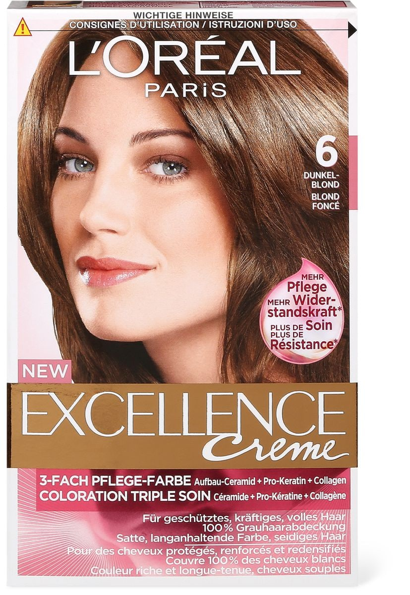 loral excellence crme blond fonc 6 - Coloration Excellence