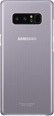 Samsung Clear Cover Orchid Grey Hülle