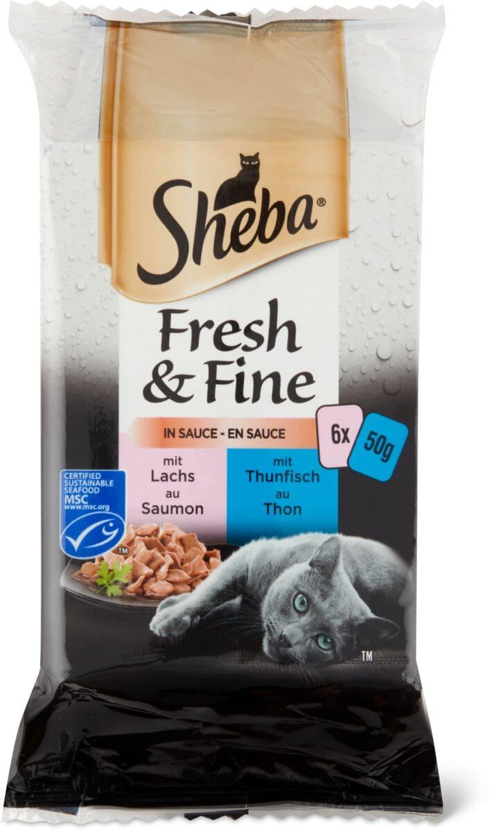 Sheba MSC Fresh&Fine Salsa selez. pesce
