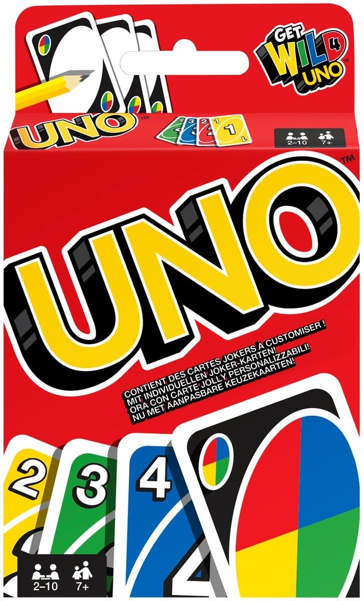 Mattel Games UNO Kartenspiel Gesellschaftsspiel