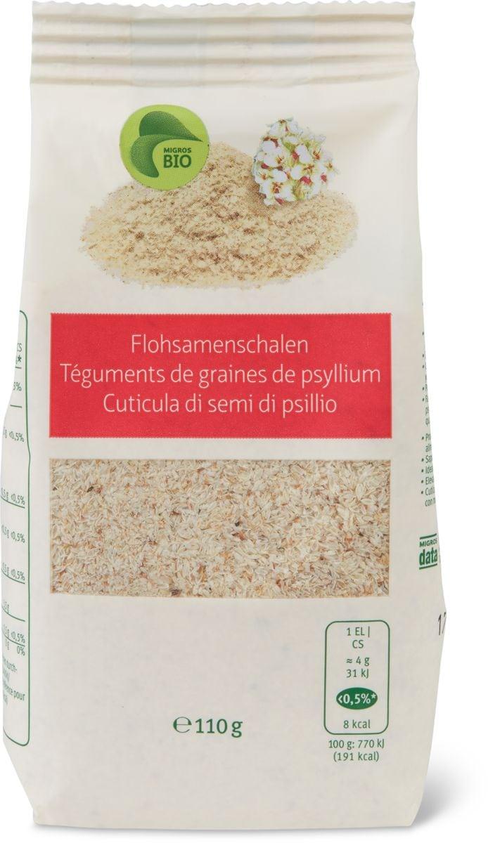 Bio cuticula di semi di psillio