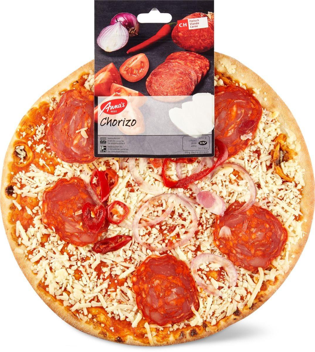 Anna's Best Pizza Chorizo