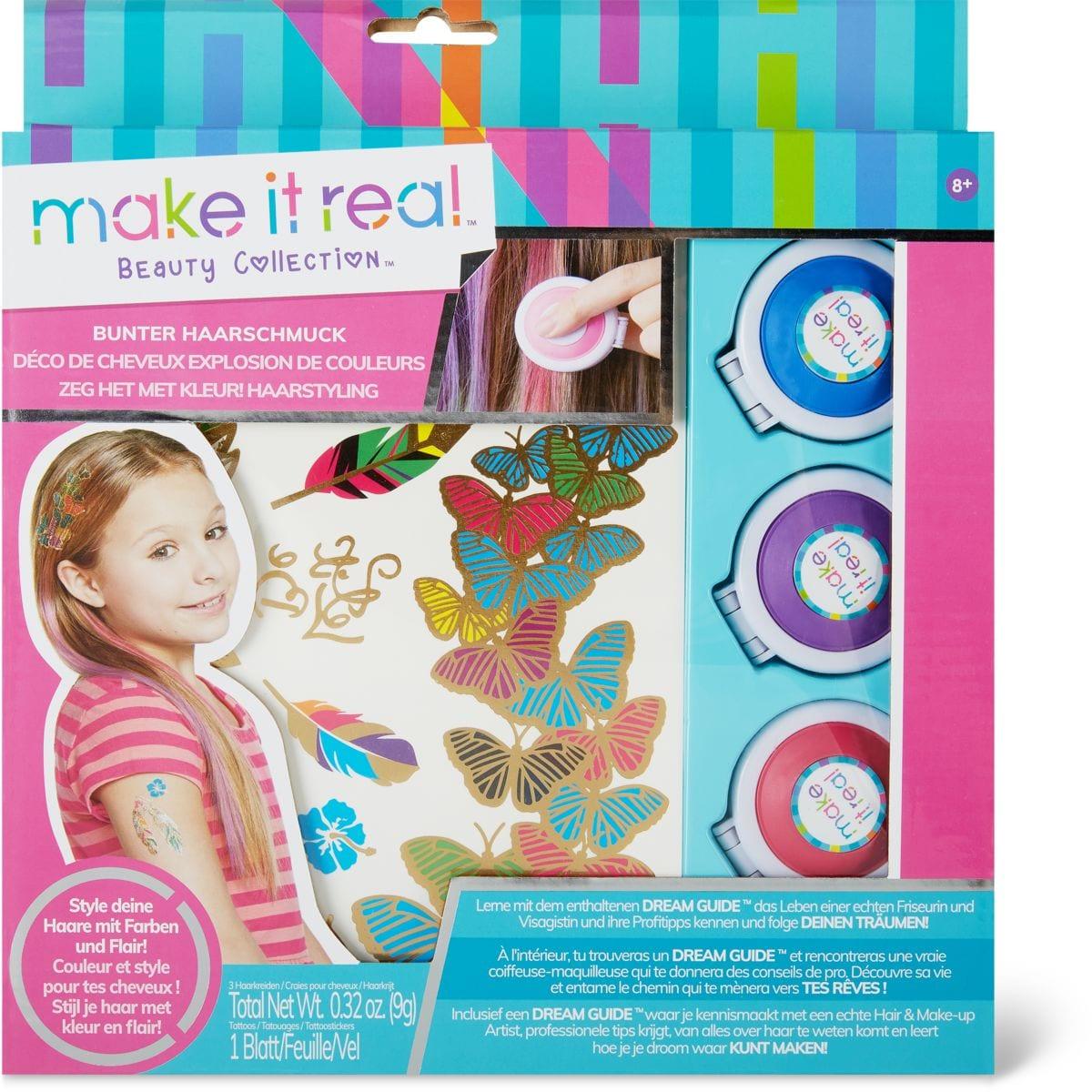 Make it real Color Burst Hair Deco Make Up
