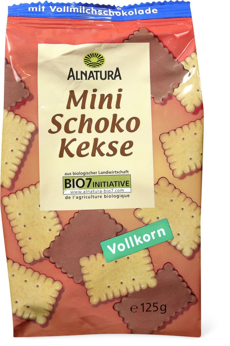 Alnatura mini Biscuits chocolat