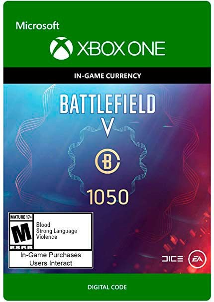 Xbox One - Battlefield V Currency 1050 Download (ESD)