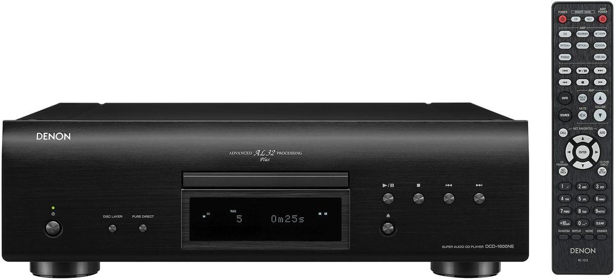 Denon DCD-1600NE - Schwarz CD-Player