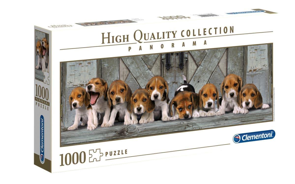 Clemantoni Puzzle Panorama Hunde 1000Tlg