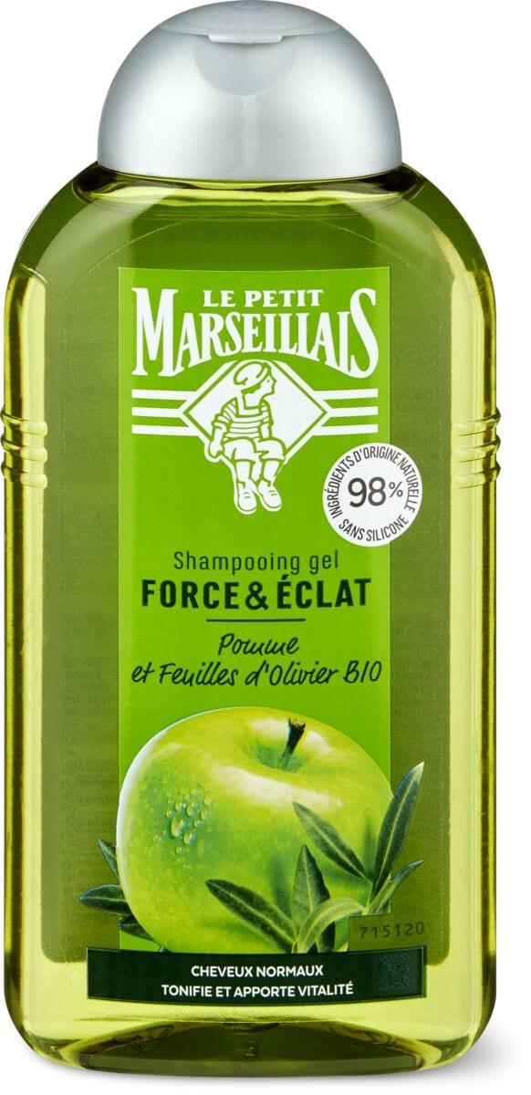Le Petit Marseillais Shampooing Extraits de Pomme et de feuilles d'Olivier